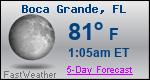 Weather Forecast for Boca Grande, FL