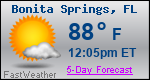 Weather Forecast for Bonita Springs, FL