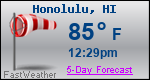 Weather Forecast for Honolulu, HI