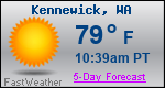 Weather Forecast for Kennewick, WA