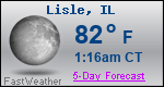Weather Forecast for Lisle, IL