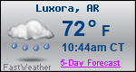 Weather Forecast for Luxora, AR