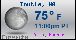 Weather Forecast for Toutle, WA