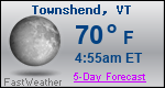 Weather Forecast for Townshend, VT